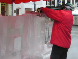 demonstratie icecarving