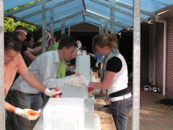 cursus ice-carving